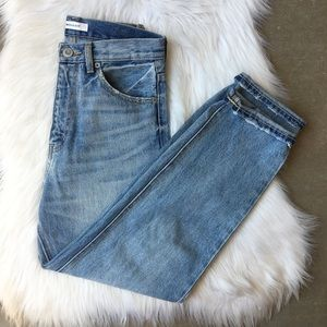 Moussy Vintage MV Tapered Straight High Waisted 25